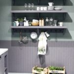 practical and trendy open shelving ideas for the modern kitchen slim floating shelves gray create smart space savvy display pine wall shelf unit decorative items how much weight 150x150