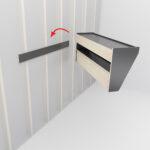 prepac floating entryway shelf and coat rack oak shelving unit with drawers adjustable shelves kitchen lighting design decorative units home decor glass fitting self adhesive 150x150