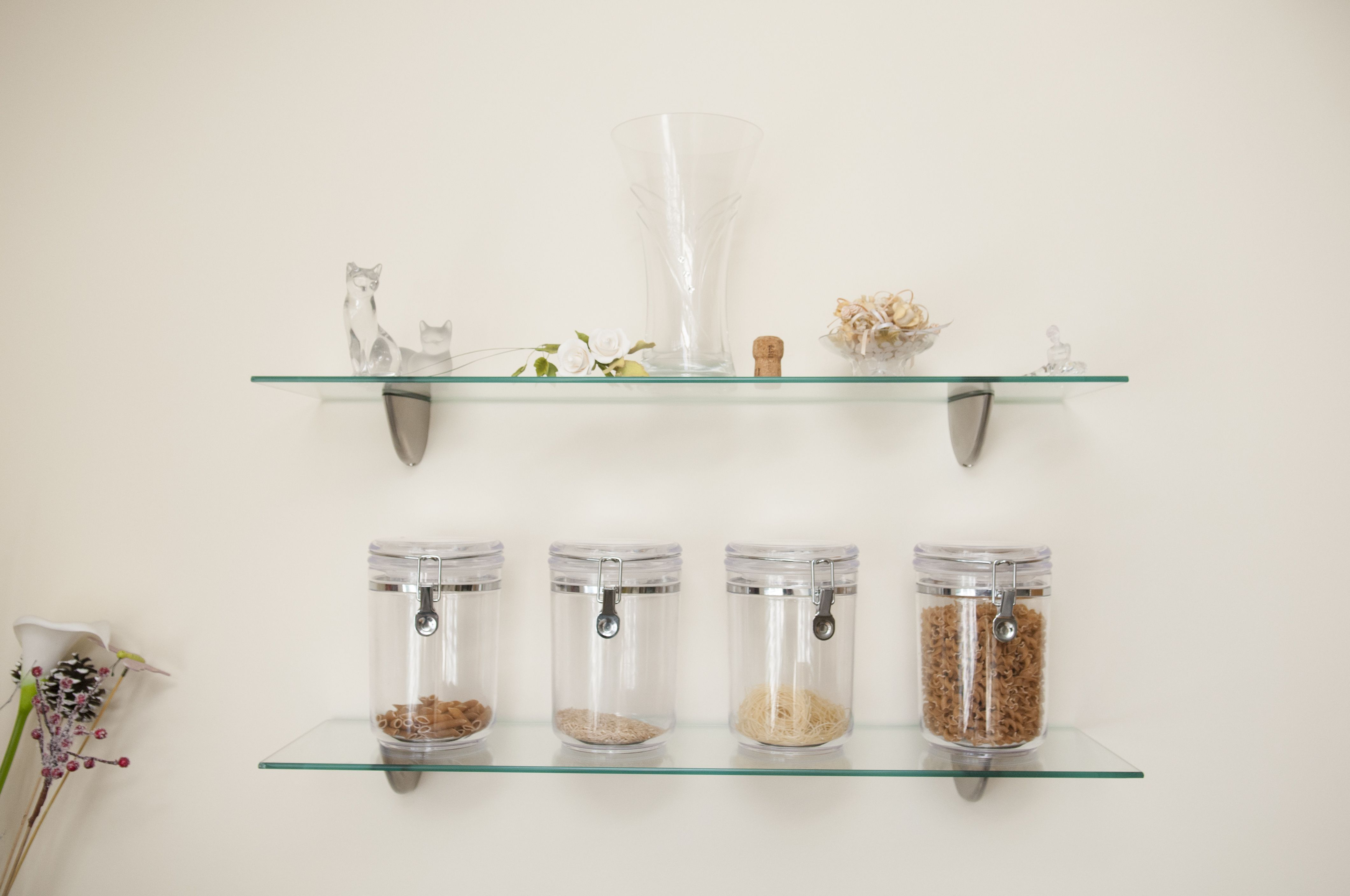 properly space your shelves and wall supports home extior interiors inch floating glass shelf metal kitchen ikea vinyl record storage rack garage system built kit box mantel black