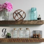 reclaimed barn wood floating accent shelves urban legacy poplar main listing board deep kitchen island ribba ture ledge shelving mitre mega cabinets living room contemporary glass 150x150