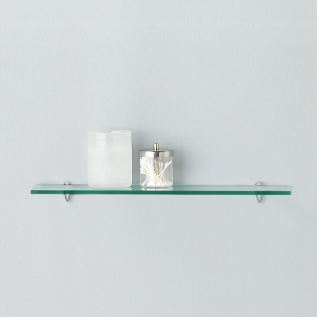 rectangle floating glass shelf kit inch long wood wall shelving brackets canadian tire bunnings cube bookshelf hooks without drilling vanity ideas roll around kitchen cart throws