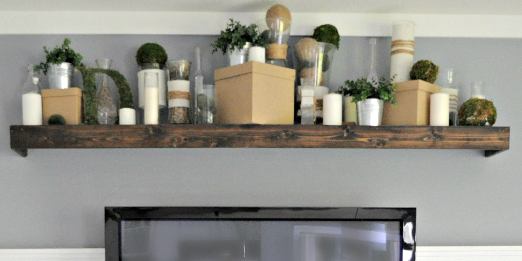 remodelaholic turn ikea shelf into pottery barn ledge floating brackets shoe hanging ideas inch corner single cube kitchen wall cabinet height deep fireplace mantel legs threshold