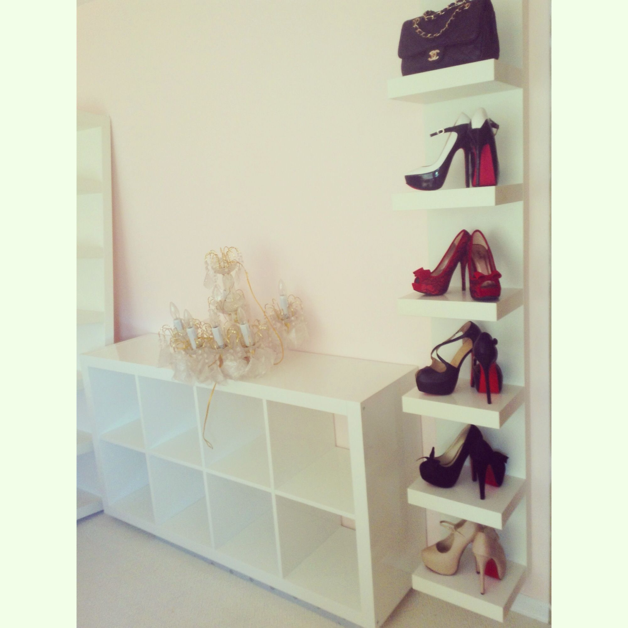 result for shoe wall shelves the college board ikea lack white floating shoes secret gun storage furniture shelf ideas office desk diy command shower hooks fold small pine curtain