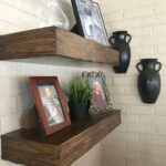rustic foating shelves inches deep floating shelf open etsy mlgr inch shelving brackets and railway sleeper mantle hidden gun safe plans high unit wall bedside bathroom storage 150x150