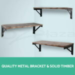 rustic industrial diy pipe shelf storage vintage wooden floating wall var brackets perth homemade crown molding small desk bookcase fireplace mantel dimensions door shoe rack cup 150x150