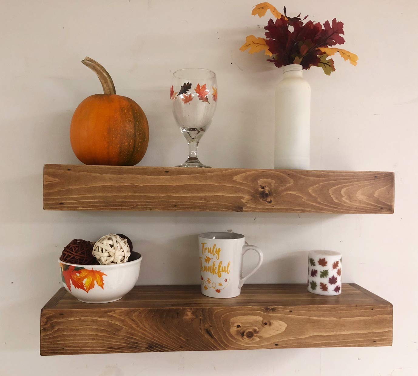rustic wood floating shelves handmade small bathroom wall shelf stereo narrow kitchen island wheels nice brackets office computer furniture funky wooden bracket size for single