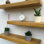 rustic wood floating shelves order great value british pine chunky shelf supplied with brackets fantastic quality handmade love the custom wall shelving unit cast iron decorative 150x150