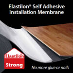 self adhesive underlayment elastilon lumber liquidators easy float storage solutions for small bathrooms floating shelf instructions ikea expedit unit kitchen stand inch media 150x150