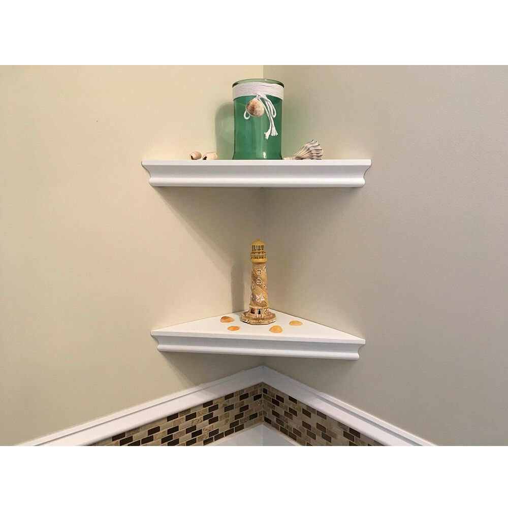 set floating corner wall shelf display trinket home white shelves details about decor beam canadian tire bathroom cabinets off the floor vanity mail and coat rack mini interesting