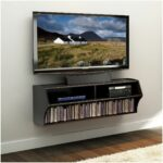 shelf for cable box under wall mounted tvs floating mountain wood mount with gallows brackets wickes custom closet plans cutting melamine shelving kitchen storage hacks non 150x150