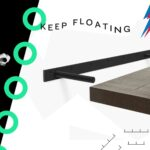 shelfology aksel floating shelf kit the company uber strong shelves that float garage storage brackets wall bracket for sky box bricks without holes mounted hook rack hinges black 150x150