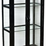 shelves magnificent iron and glass cabinet with doors black shelf brackets floating air display hanging systems plate metal shelving unit small bathroom clear ikea clothes rack 150x150