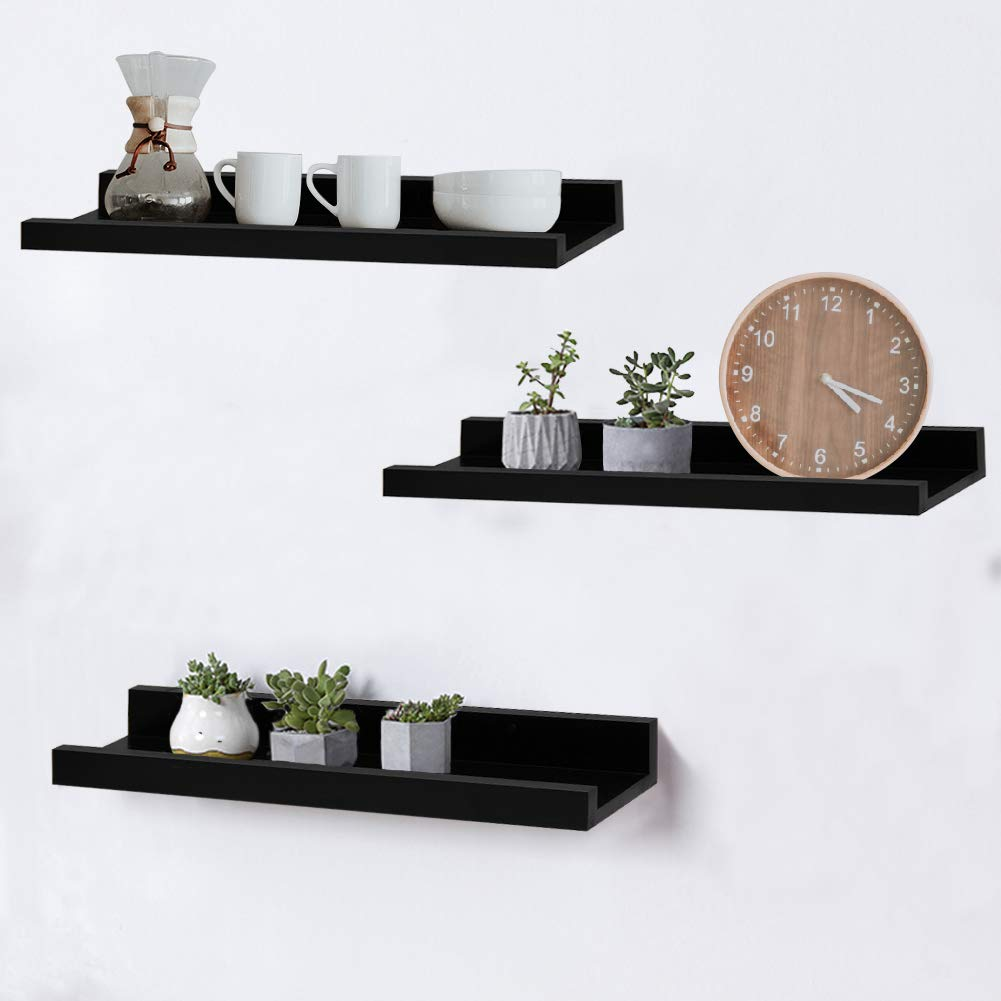 shelving solution inch floating wall shelves set black shelf home kitchen wood bathroom cabinets ideas tier wooden corner ikea besta unit white decorative hooks short screw into