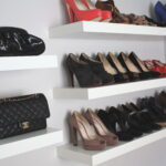shoe wall shelves pmpresssecretariat floating shelf rack ysl page saveenlarge for shoes jessannkirbycom white kitchen without upper cabinets ikea mini adjustable closet storage 150x150