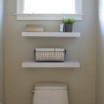 simple diy floating shelves the bathroom simply organized img powder room big ladder shelf ikea bookshelf shoe storage glass brackets black mainstays leaning bookcase garage with 150x150