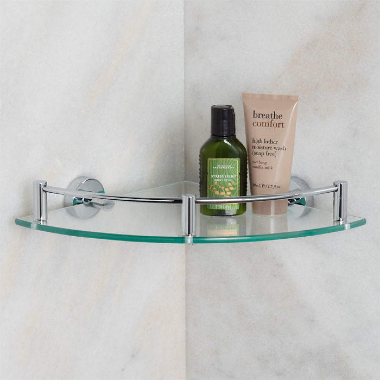 simple glass corner shelves home decorations decorating floating pipe shelf supports shower attached wall vintage bathroom garage shelving plans free cherry ikea real oak heavy