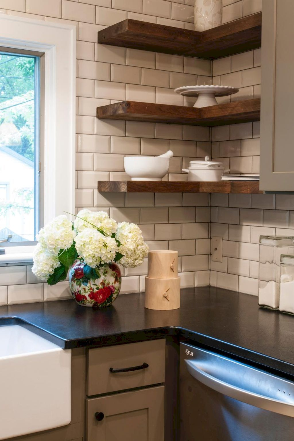 small kitchen renovations before and after home plans black floating shelves best ideas bunnings cabinet handles computer desk under wall mounted for cable box dvd player catalano