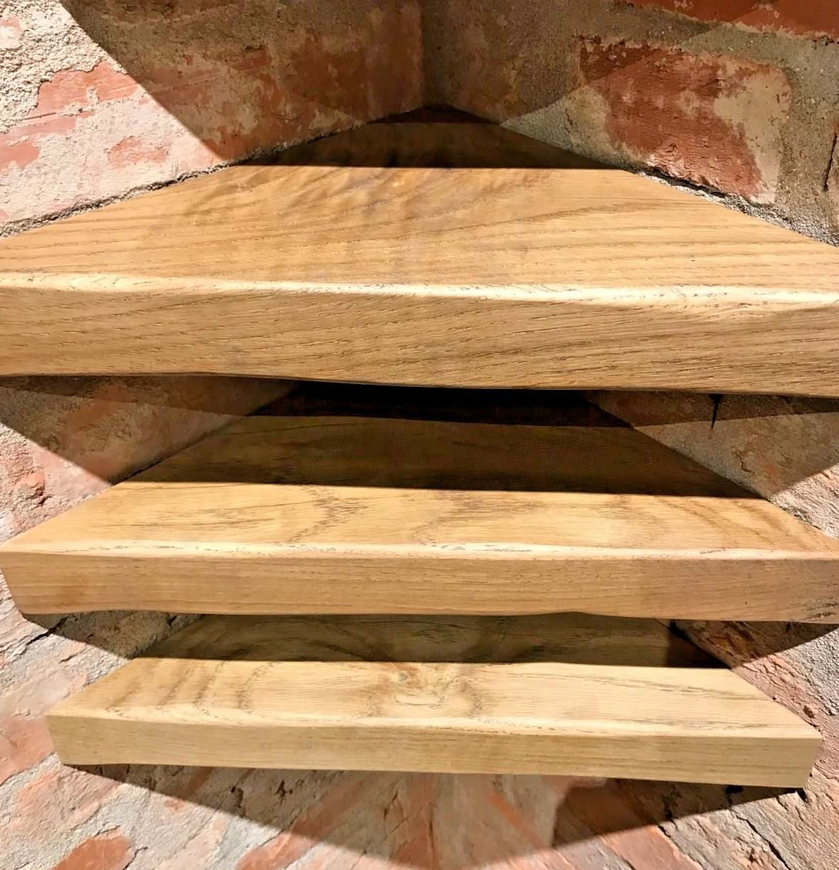 solid oak floating corner shelf little love farm shelves under bath storage ideas diy garage shoe rack office desk hidden gun safe magnetic lock rustic metal closet companies