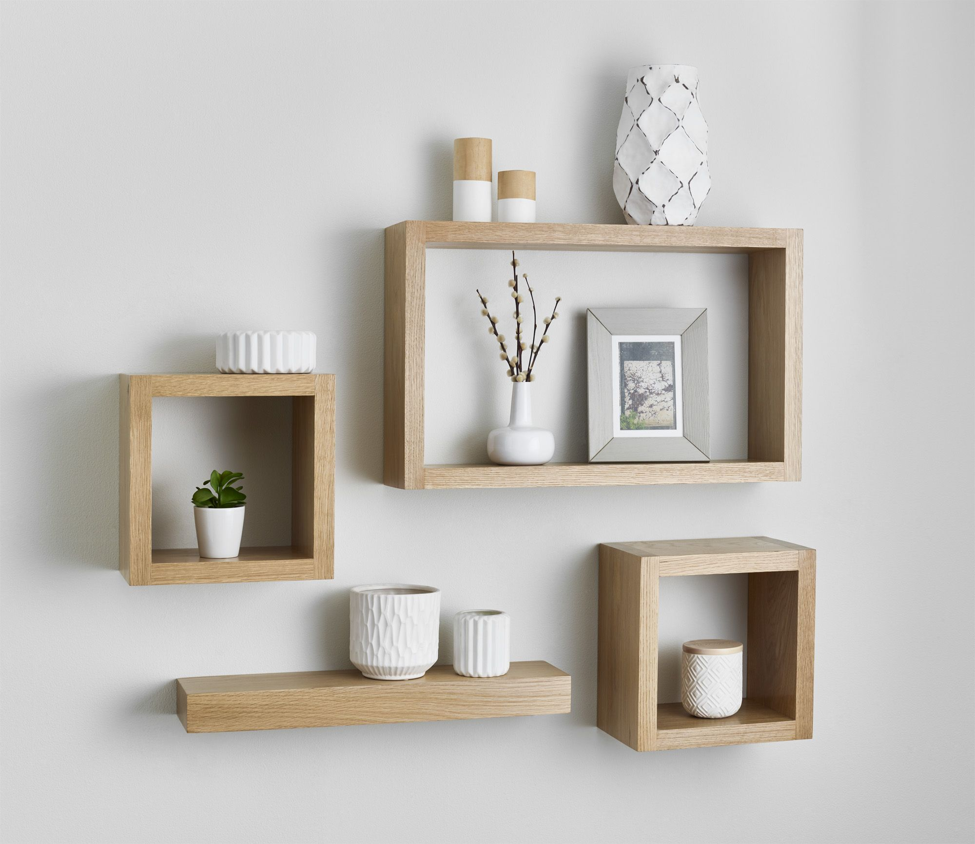 solid oak floating cube shelf custom made measure shelves barn wood beam industrial shelving kitchen metal brackets for glass narrow unit white designs hall quirky wall above