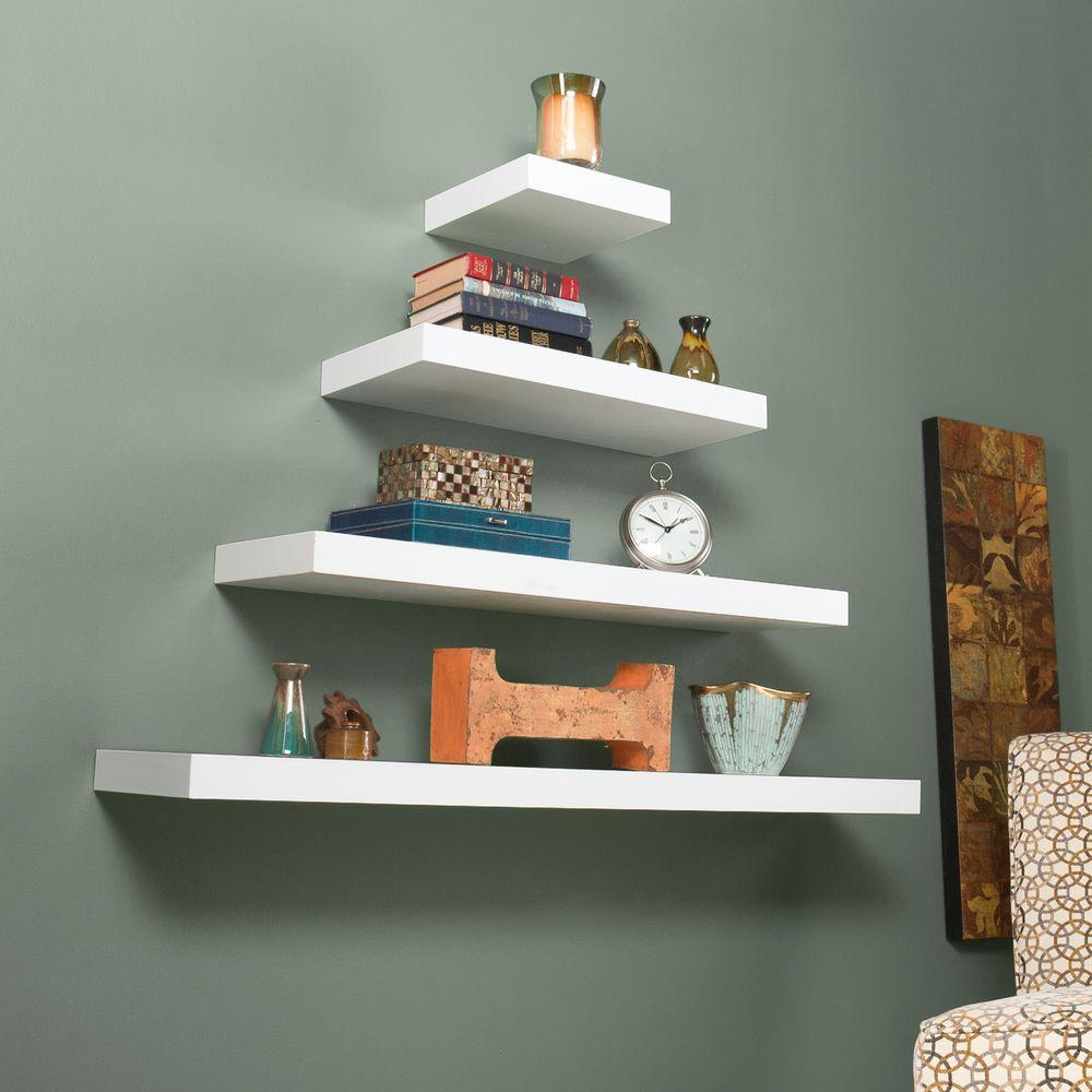 southern enterprises diego floating shelf white the decorative shelving accessories shelves from small bathroom ideas how much weight can brackets hold foot office wall anchors