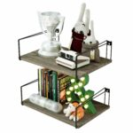 sriwatana large floating shelves rustic wood wall with superior bearing capacity for many rooms decor weathered grey home kitchen open shelf cabinet white wedge lava lamp kmart 150x150