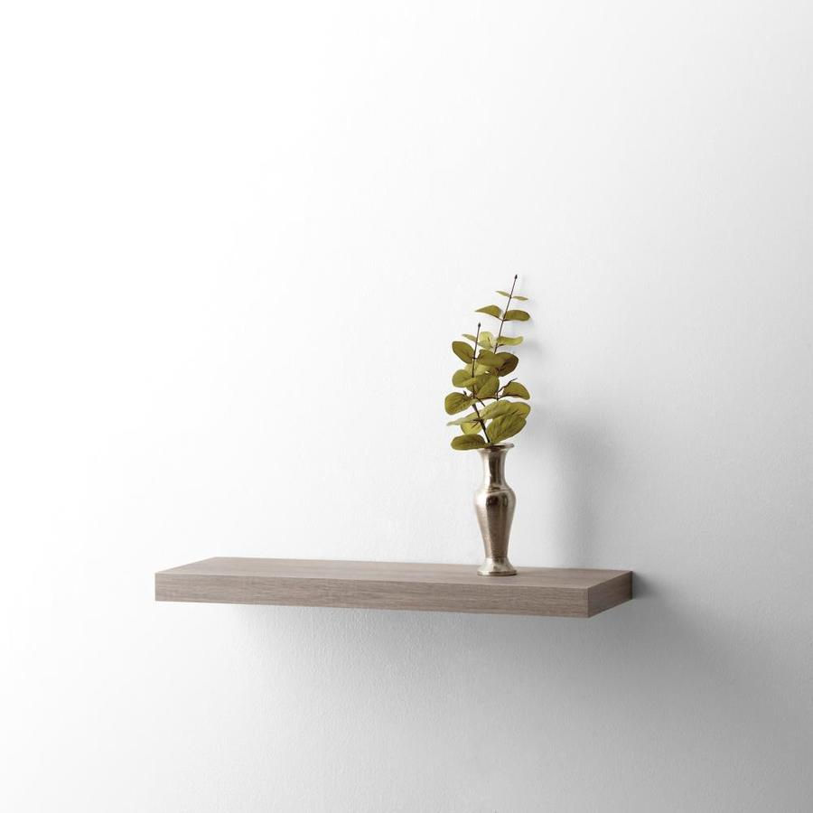 style selections wall mounted shelving canvas driftwood floating shelf shaped shelves ikea best garage storage systems metal desk stand shoe holder for receiver ergonomic office
