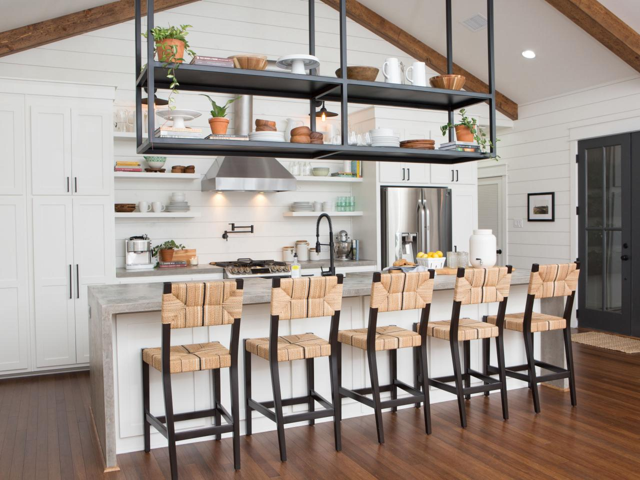 stylish kitchen island ideas decorating design blog floating shelves over remodeled with concrete lack ikea furniture corner garage storage plastic kmart barn wood multiple wall