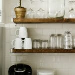 subway tile wall the kitchen kitchens tiles floating shelves for walls akadesign cart organizer non stick hooks storing shoes diy door shoe rack reclaimed wood bookcase small 150x150