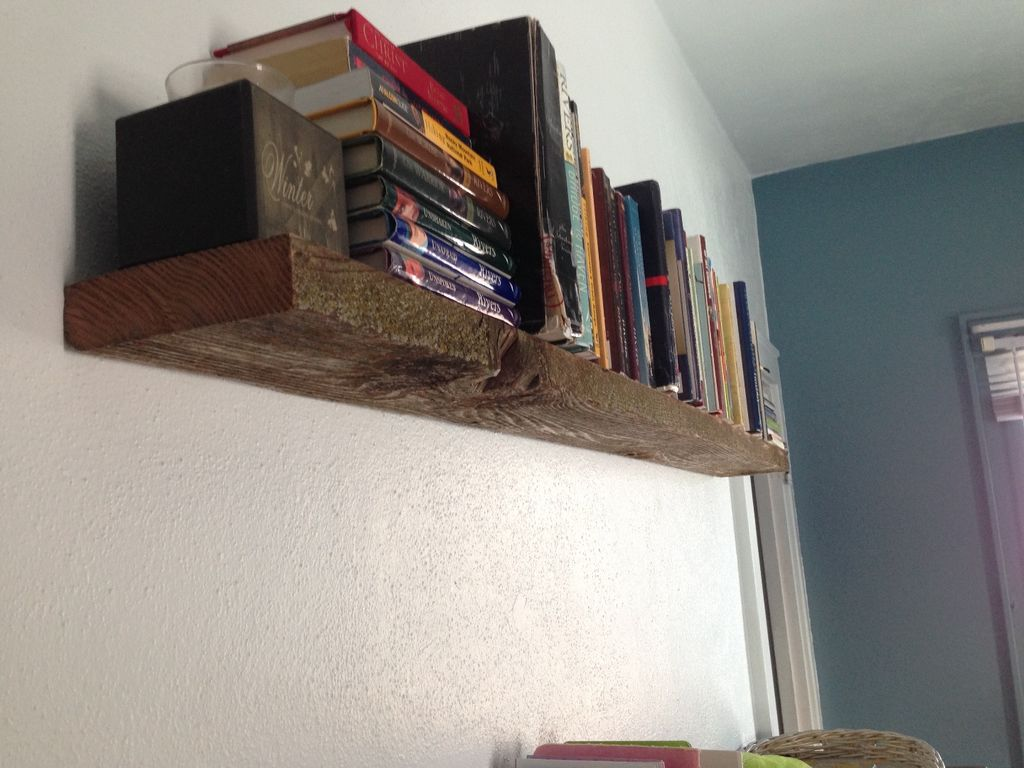 super sturdy floating shelf from barn wood steps with tures large build weight bearing ture pine corner wall bracket system high gloss open storage shelves non damaging hangers