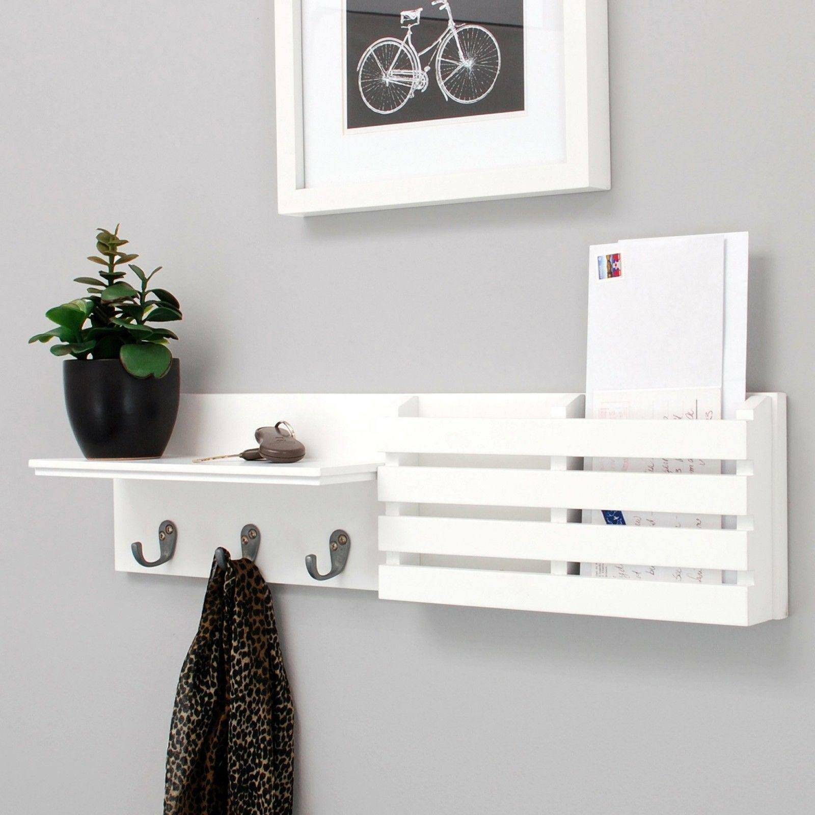 sydney floating shelves wall shelf mail holder hooks inch white with stock ends lack side table hack plywood brackets diy black cube self stick vinyl tiles concrete knoppang ture