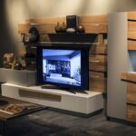 tastefully space savvy living room units that wow wooden planks warmth and textural beuaty the unit floating shelves for entertainment different shoe rack designs garage wood 150x150