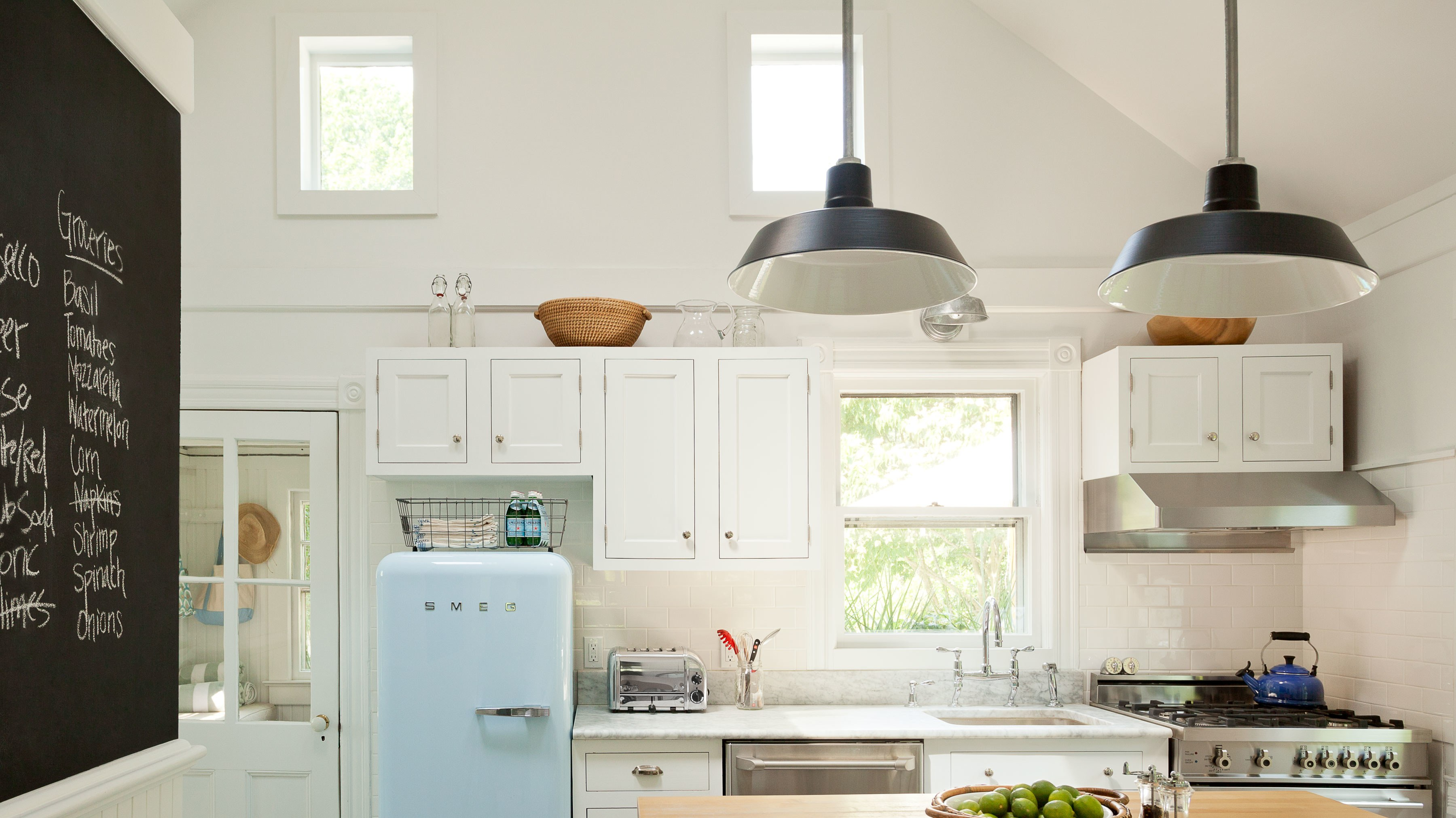 the best small kitchen design ideas for your tiny space smallkitchens jennywolf floating shelves architectural digest open upper cabinets concrete shelf shower corner tile perth