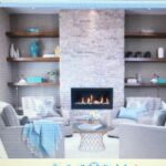 the floating shelves surrounding bumped out fireplace wall mounted deep nice design putting without nails non marking hooks baby nursery vertical shoe storage solutions command 150x150