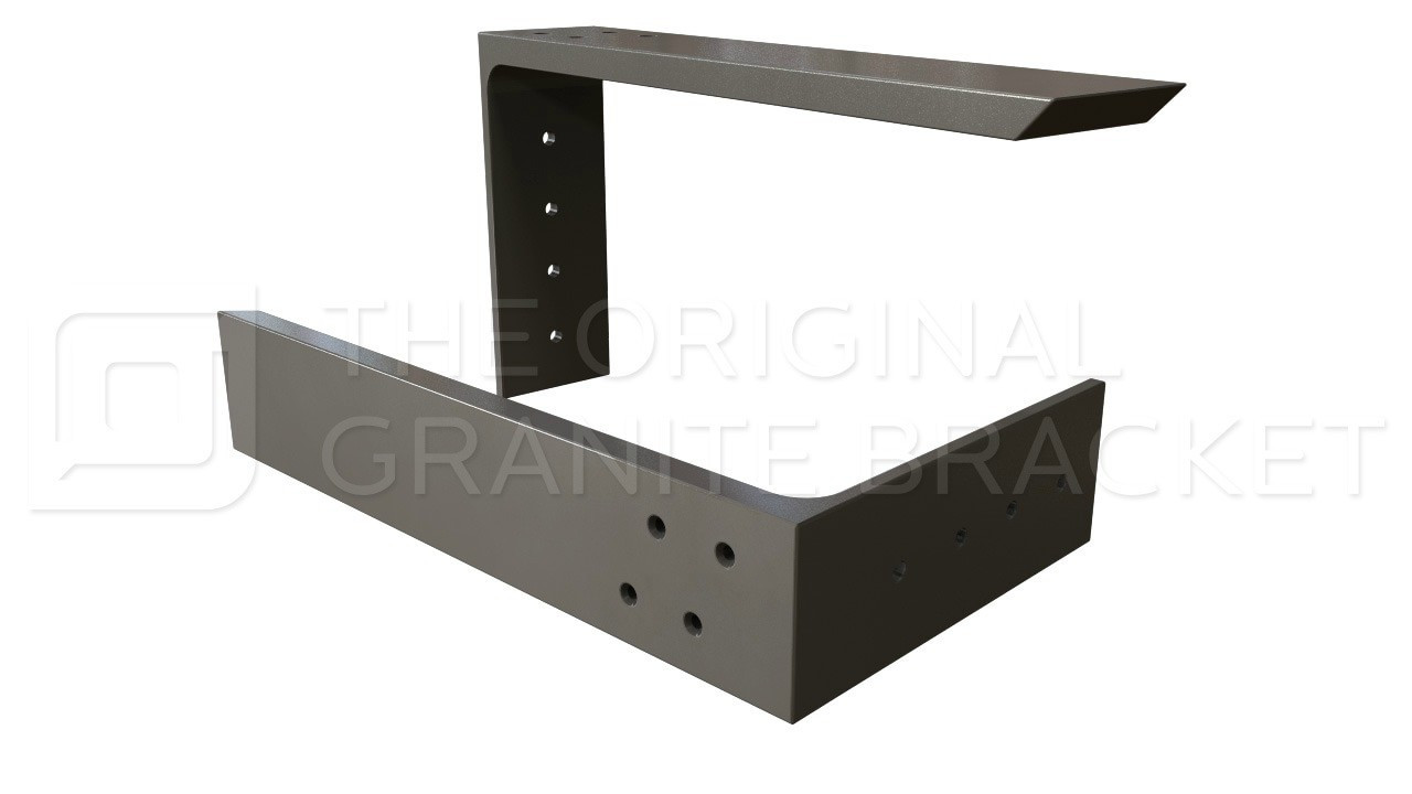 the original granite bracket floating shelf brackets countertop support white wall shelving unit boot storage ideas preparing plywood subfloor for vinyl high gloss metal corner