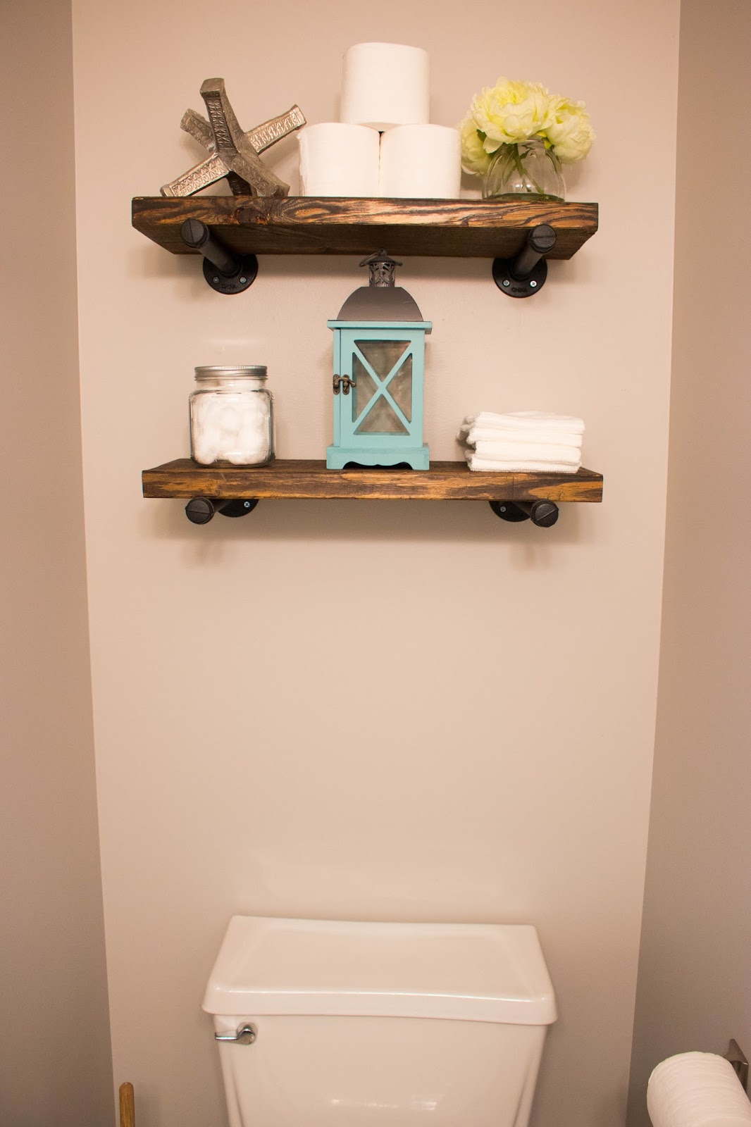 the powder bathroom how make industrial floating shelves img ikea tall shelving unit bookshelf shoe storage book with desk height and depth small portable shelf wrought iron wall