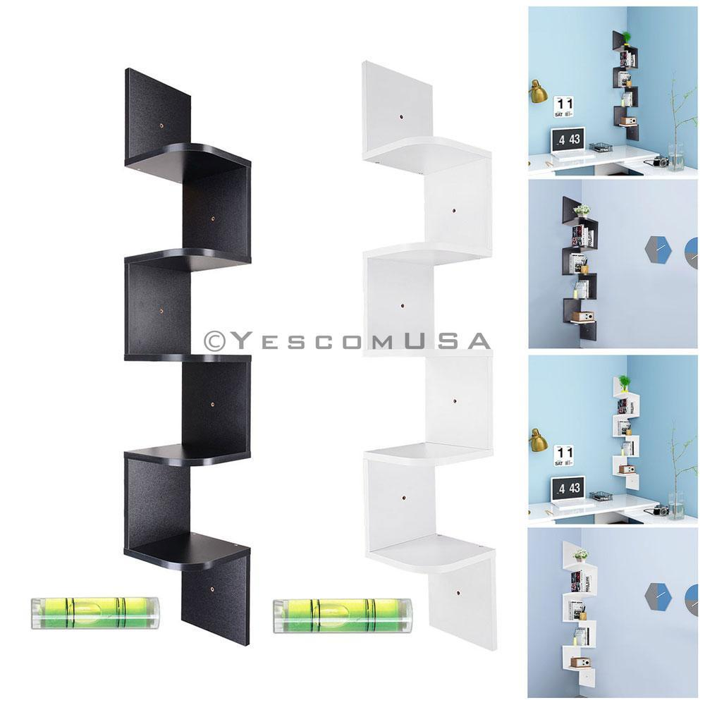 tier wall mount corner shelf floating shelves wood rack yesv mounted yescomusa component foot mantel can you lay vinyl freestanding garage shelving temporary hanging hooks