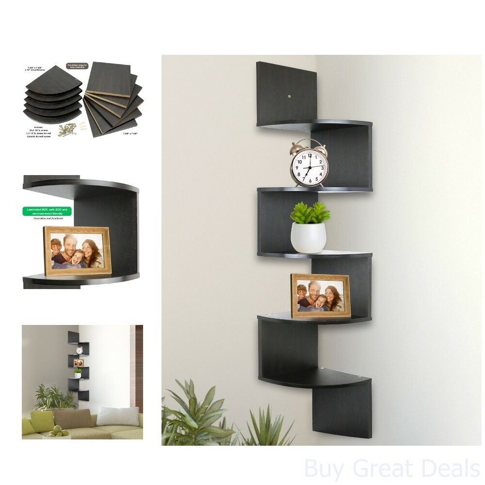 tier wall mount corner shelves espresso floating home furniture shelf for dvr dunelm bathroom mirrors shower controls hanging decor antique cast iron corbels wire kitchen sydney