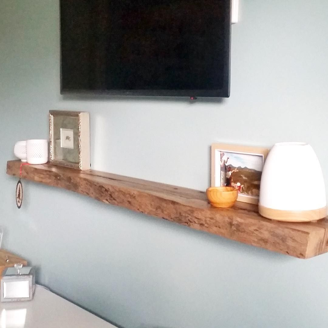 timber floating shelf under natural live edge marri shelves gold coast floatingshelvesrepisasflotantes floatingshelvesbathroomplum pipe elastilon underlayment ikea stainless