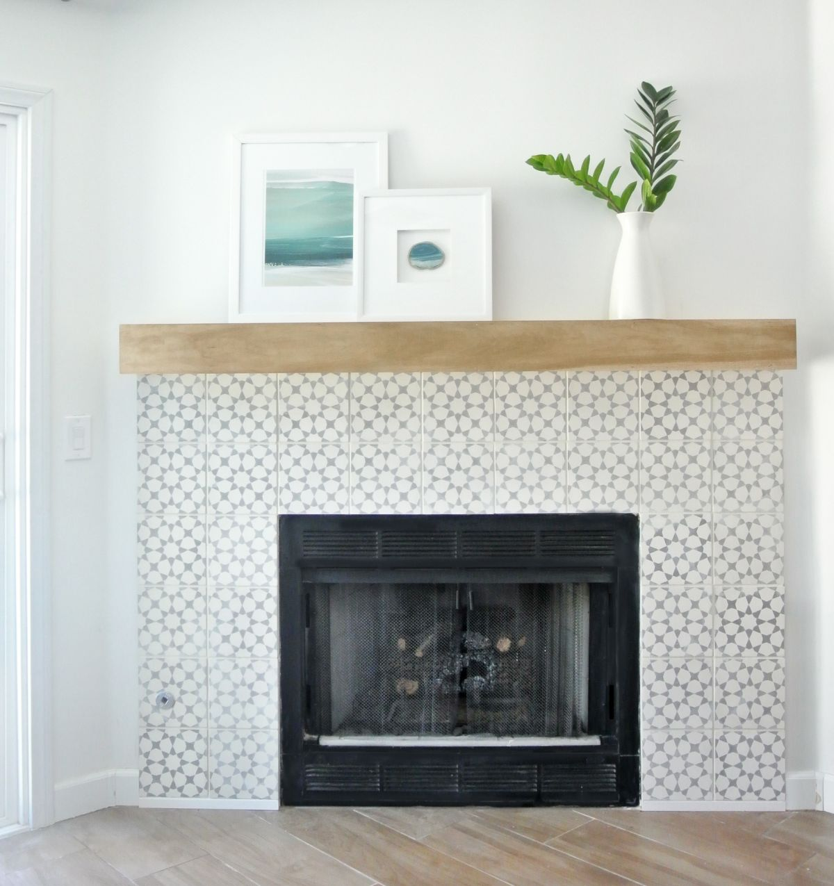 tips diy and decorate your fireplace mantel shelf decorating the with framed art floating over view gallery kitchen unit storage hairpin homebase toy hanging wall hooks cherry