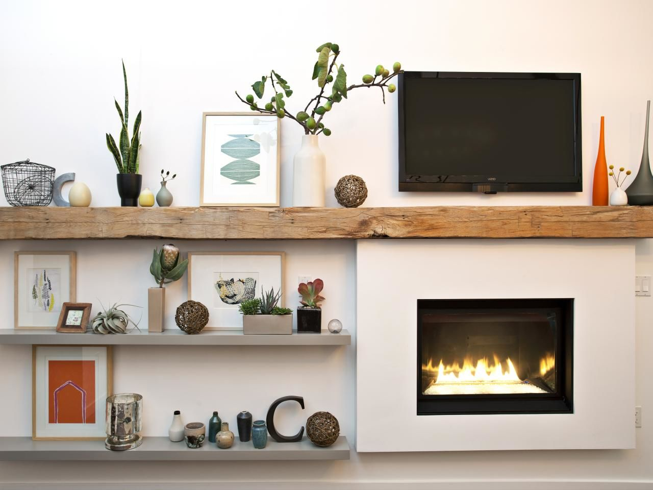 tips diy and decorate your fireplace mantel shelf extended floating for wall book cubes hidden drawer oak bookshelf ikea kallax storage system black gloss shelves pedestal sink