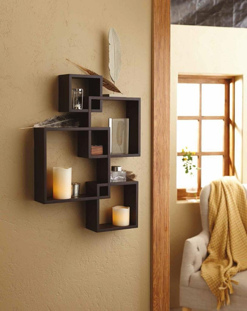 top black floating wall shelves review intersecting square shelf cube ready made closet organizers ikea book holder mounted media cabinet inch deep shelving unit best kitchen