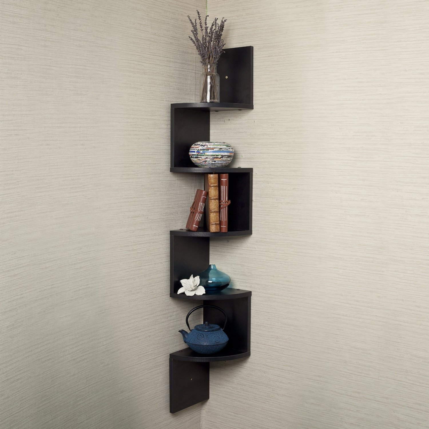 top black floating wall shelves review zigzag corner shelf large coat hook rack mail and chunky bookshelf ikea besta kitchen display bookcase closet organisation hanging racks