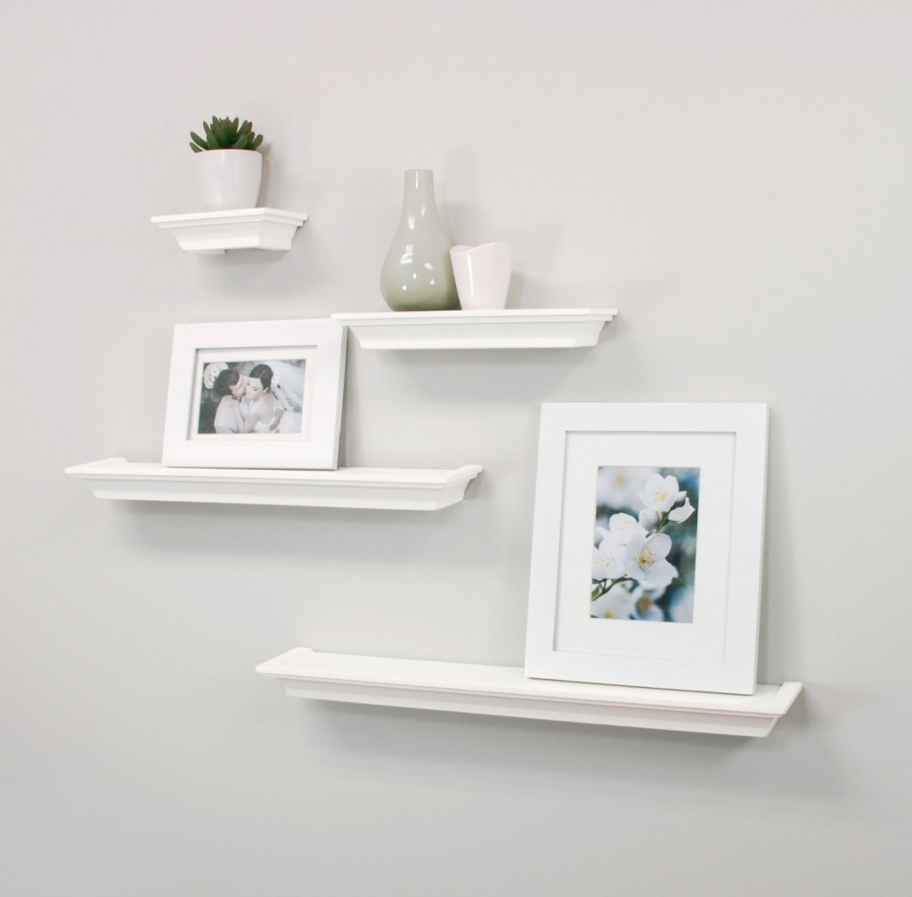 top white floating shelves for home interiors bathroom wall shelf bunnings unit entryway cubbie metal utility shelving garage accessories easy shoe rack simple brackets rustic