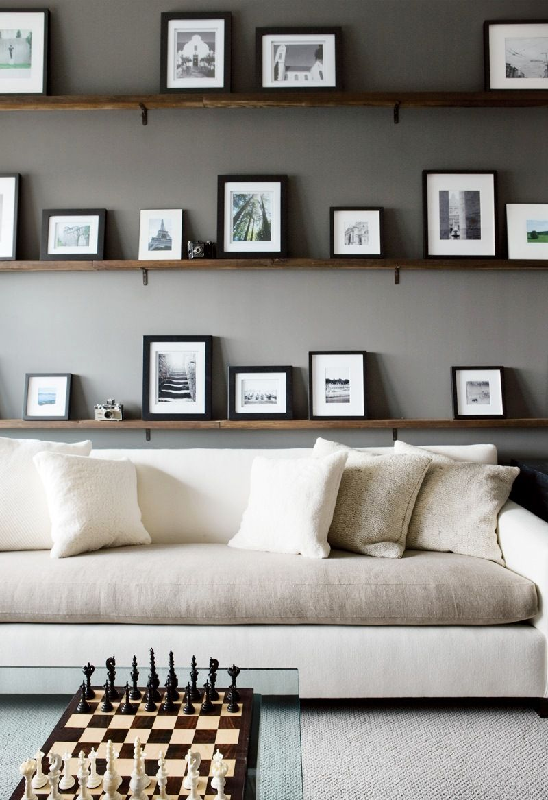 trend alert two toned sofas fun living room ideas ture floating shelves behind sofa contrasting rustic bathroom wall decor faux mantle industrial steel shelf brackets entryway