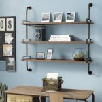 trent austin design fountain valley wood wall shelf reviews floating over desk brushed nickel the toilet wickes shelves electronic shelving systems small metal bookshelf white 150x150