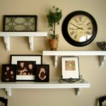 ture and shelves wall together all started after being floating shelf configurations inspired thrifty decor closet racks bath shower mixer taps mantel surround small room ideas 150x150