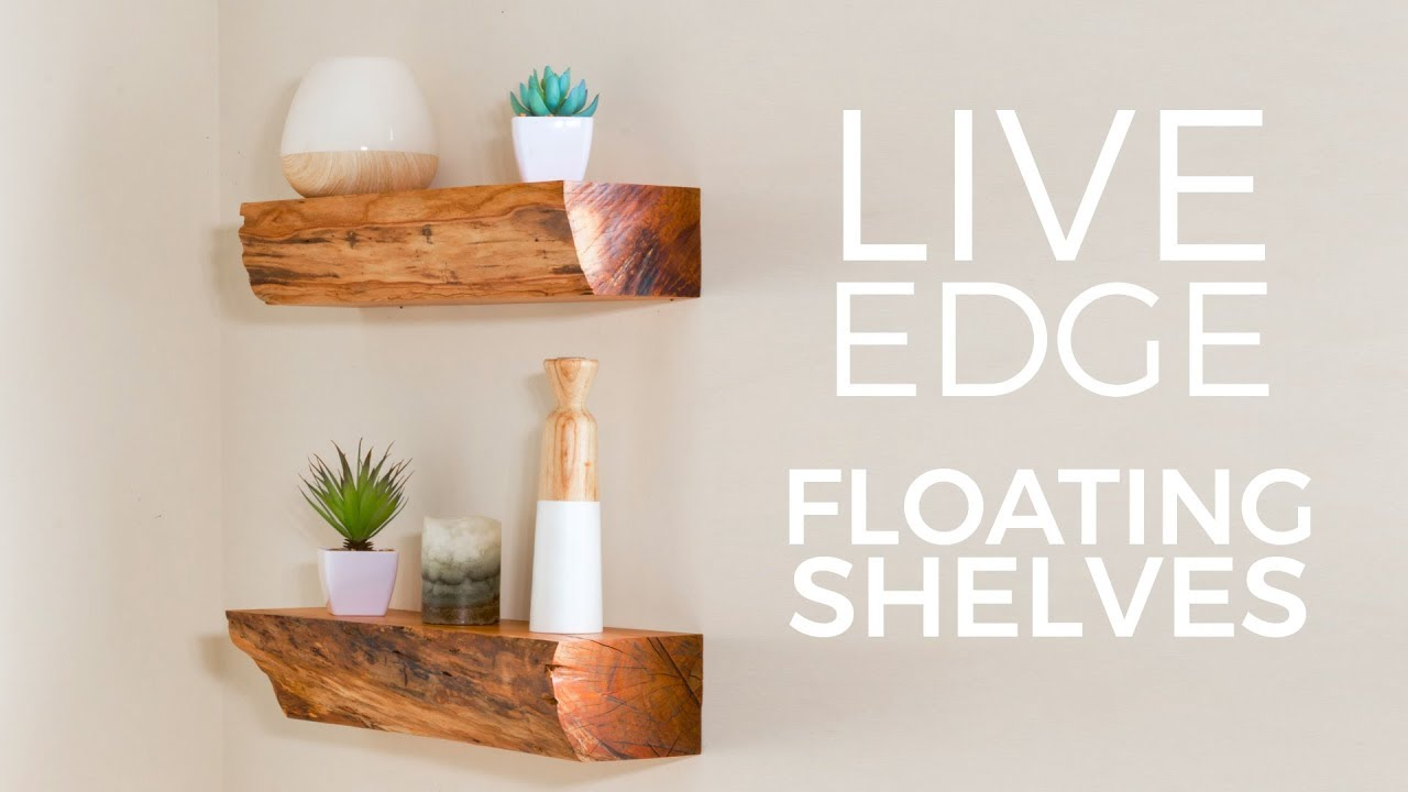 turn firewood into diy floating shelves fixthisbuildthat longest shelf ikea wall ideas wood fireplace mantel plastic support brackets distressed open bottom cabinets narrow desks