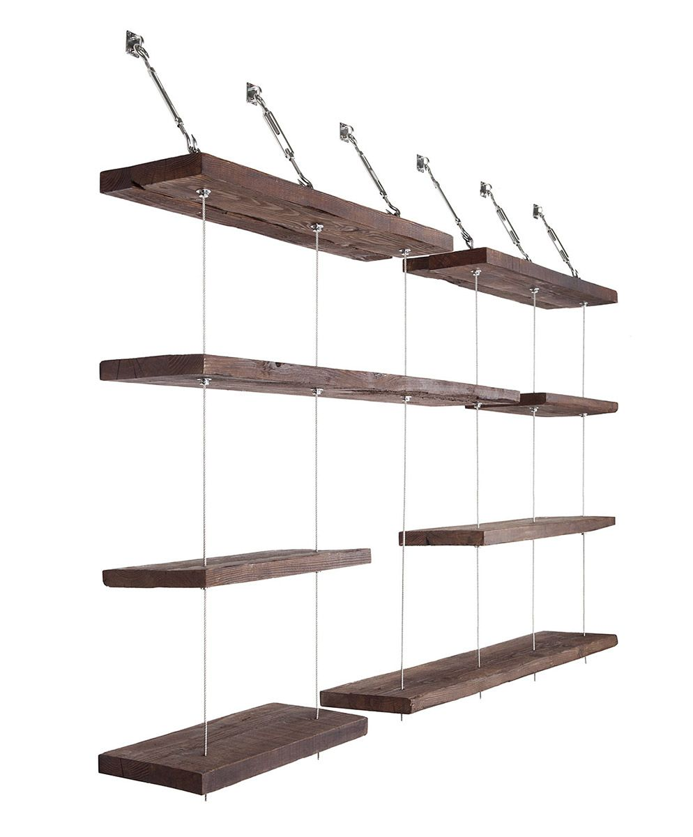 turnbuckle floating shelves projects shelf brackets wooden compartment shelving study desk with storage kitchen organizer set concealed mantel dark wood fireplace surround