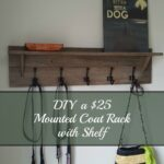 turtles and tails wall mounted coatrack with shelf diy for coat rack floating built garage shelves children book ledge small open shelving unit square kitchen island ikea large 150x150