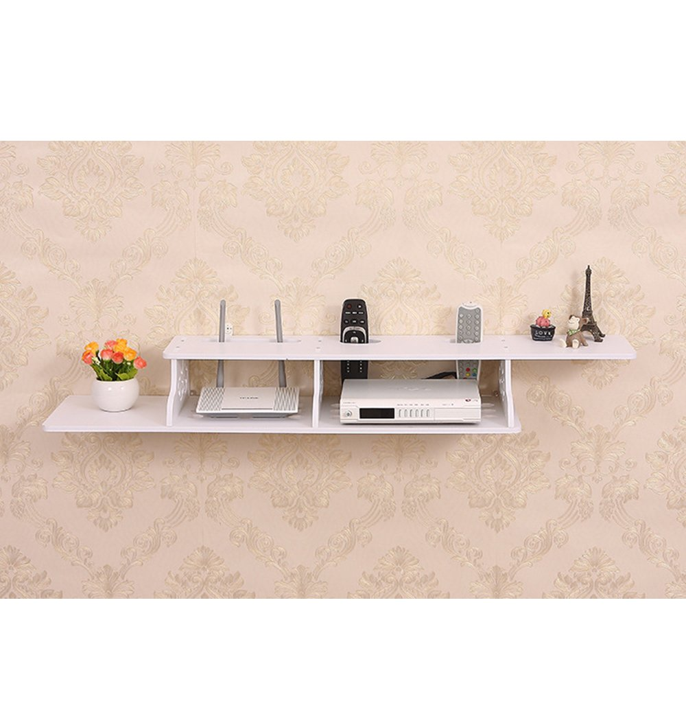 ucan wall shelf wood floating holders hanging for cable box brackets boxes router white right angle home kitchen glass bathroom table rocking chair slipcover frosted shelves